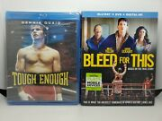 Tough Enough Oop Blu-ray New + Bleed For This Blu-ray+slip Cover Like-new