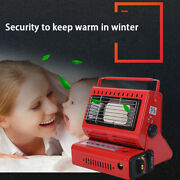New Camping Emergency Butane Heater Double Coherent Heat Source Survival Tool Ee