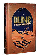 ❤️dune By Frank Herbert Leather Bound Collectible Edition Book New