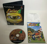 Monster Rancher 4 Complete In Box Cib + Registration Card Playstation 2 Ps2