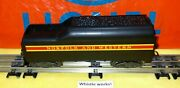 Lionel 746w Whistle Tender, Nandw Long Stripe, Complete And Working, Very Nice