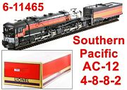 Lionel 6-11465 Southern Pacific Daylight Sp Ac-12 W/legacy/tmcc/rs 2014 C8