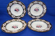 Charles Meigh And Sons Blantyre Improved Stone 4 Soup Bowls 10 5/8 C1851-61