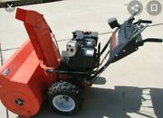 Ariens St 1236 Snowblower. Orange Very Big But Light And Compact