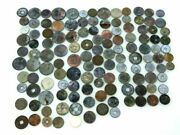 Antique Asian Coins A Lot Total 127 Japanese/chinese/honk Kong/south Korea As Is