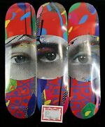 Paul Insect I See Skate Triptych Signee + Stickers Banksyshepard Faireywhatson