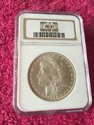 1885-o 1 Morgan Silver Dollar Ms67 Ngc Blast White Just An Immaculate Coin