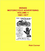Indian Motorcycle Company Advertising Vol 1 1901-1917 518 Pgs Brand New