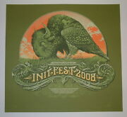 Init Fest Sioux Falls Aaron Horkey Concert Poster Print Signed And Numbered 2008