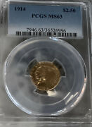 1914 2 1/2 Gold Indian Ms63 Pcgs Lowest Price On Ebay