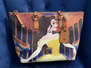 Dooney And Bourke Disney Belle Beauty And The Beast Tote Dream Big Princess Guc