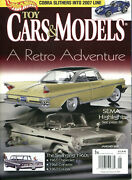 Toy Cars And Models Magazine Bundle 12 Issues 2007 Complete Like-new Must See