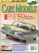 Toy Cars And Models Magazine Bundle 4 Issues 2005 / 2008 Like-new Must-have