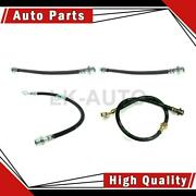 Centric Parts Rear Front 4 Of Brake Hydraulic Hoses For Geo Prizm 1993-1995