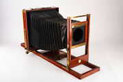 Antique Century View No 1 8x10'' Camera With Double Grooved Bed And 4x5 Back V16