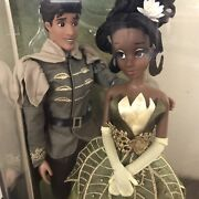 Disney Limited Edition Fairytale Designer Collection Tiana And Naveen Doll Set