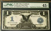 1899 Black Eagle 1 Silver Certificate Mule Pmg45 Epq Choice Extremely Fine 3416