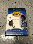 Plantronics T10 Corded Single Line Hands-free Headset Telephone System - New