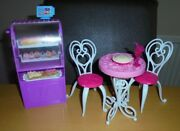 Barbie Doll Barbie Life In The Dream House Bakery And Bistro Set - Malibu Avenue