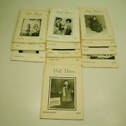 Doll News Ufdc Black And White Magazine - 1969 To 1972 12 Issues