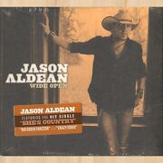 Jason Aldean Wide Open Cd Big Green Tractor She's Country The Truth     0912