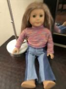 Julie American Girl Doll Used With American Girl Outfit Damage To Dolls Hair