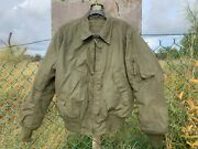 Tanker Jacket Cold Weather. High Temp Resistant Size Large Long Uec 100 Aramid