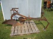 Allis Chalmers Tractor Single Bottom Plow Great Condition For Decor Or Use