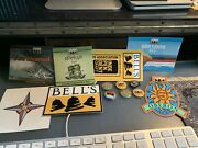 Belland039s Brewery - 7 Stickers And 6 Pins Logo Oberon Hopslam Two-hearted