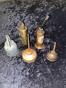 Antique/vintage Oilers Collectible Oil Cans Singer And More Mixed Lot