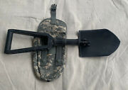 Gerber E-tool Folding Shovel Entrenching Tool And Tool Pouch Us Army Spec Defense