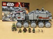 Lego 75151 Star Wars Clone Turbo Tank 100 Complete W Minifigures And Instructions