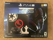 Box Only Playstation 4 Ps4 Pro Limited Star Wars Battlefront 2 Box Only