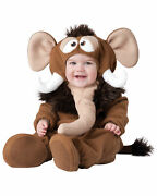Wee Wooly Mammoth Elephant Prehistoric Baby Boys Infant Costume
