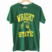 L255 Vintage Nike Wright State Raiders Ncaa Tee Shirt Single Stitch Made In Usa