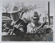 Paul Newman And Lee Marvin Signed X2 - Pocket Money W/coa