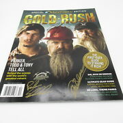 Gold Rush Discovery Parker Schnabel Tony Beets Todd Hoffman Signed Magazine