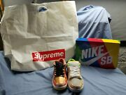 Nike Sb Dunk Low Street Hawker Size 10 Brand New Mint Condition