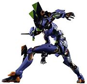 Metal Build Evangelion Unit 1 Approx. 220mm Die-cast And Abs And Pvc Pain...