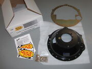 Quick Time Chevy Ls1 V8 Muncie/saginaw Steel Bell Housing Scatter Shield Rm-6036