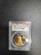 1992-w Pcgs 50 Proof American Gold Eagle Coin Pr69dcam Reagan Legacy Series