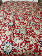 Rare Cote D Azur Floral Poppy Twin French Country Cottage Comforter