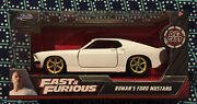 2020 Fast And Furious Roman's Ford Mustang Die-cast 132 Scale 🔥free Ship 🔥