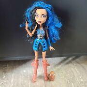 Monster High First 1st Wave Robecca Steam Doll With Pet Penguin Steam Punk Girl