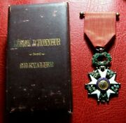 French National Order Legion Of Honor Knight Silver And Gold Luxury Model Medal