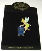 Tinker Bell Le 100 Disney Auctions Pin ✿ Tink Friendship Stamp Mailbox Usps Rare