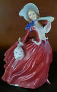 Royal Doulton Autumn Breezes Figurine Hn1934. Excellent Condition Free Shipping