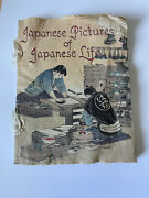 Rare Antique Book Japanese Pictures Of Japanese Life