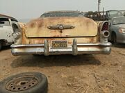 1955 Buick Super Roadmaster Rear Bumper Complete With Guards Oem