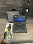 Sony Bdp-sx1000 Portable Blu-ray Player 10.1 Andldquoscreen Carry Case Hardly Used